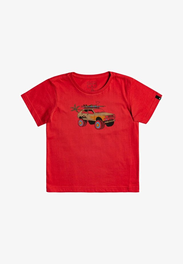 VERY ROOTSY  - Print T-shirt - american red