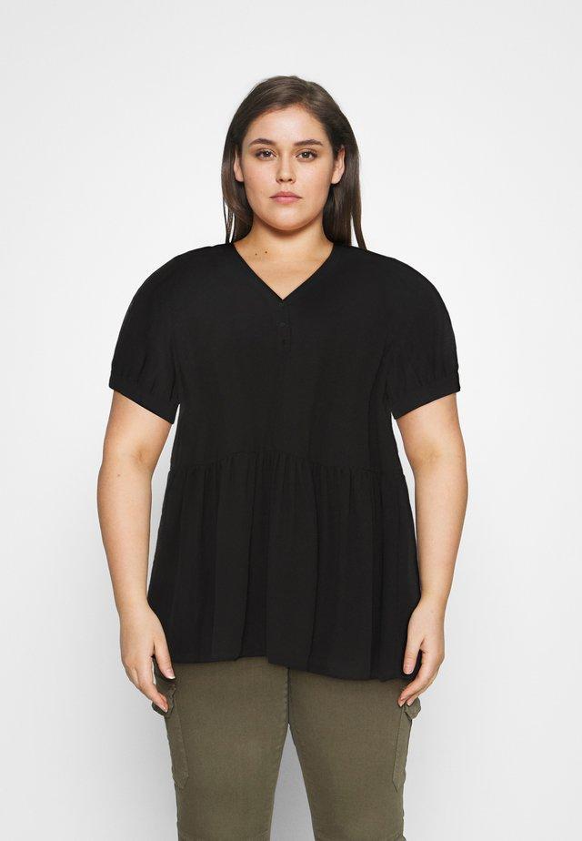 SLFABI SHORT DRESS - Kjole - black
