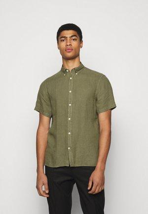 CLEAN SLIM - Camisa - lake green