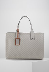 Emporio Armani - SOFT LOGO SHOPPER - Tote bag - grigio/blue - 0
