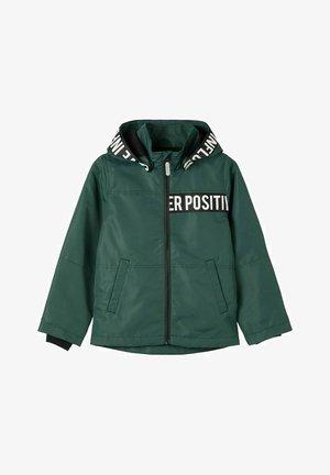 Waterproof jacket - darkest spruce