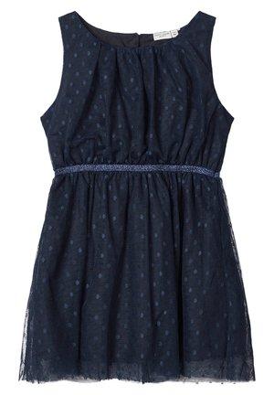 Korte jurk - dark sapphire