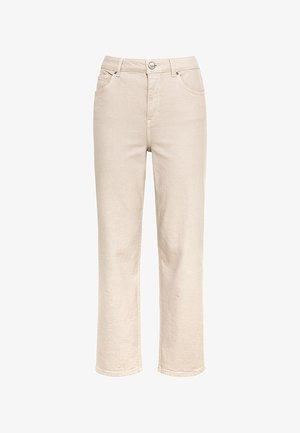 Straight leg jeans - creme