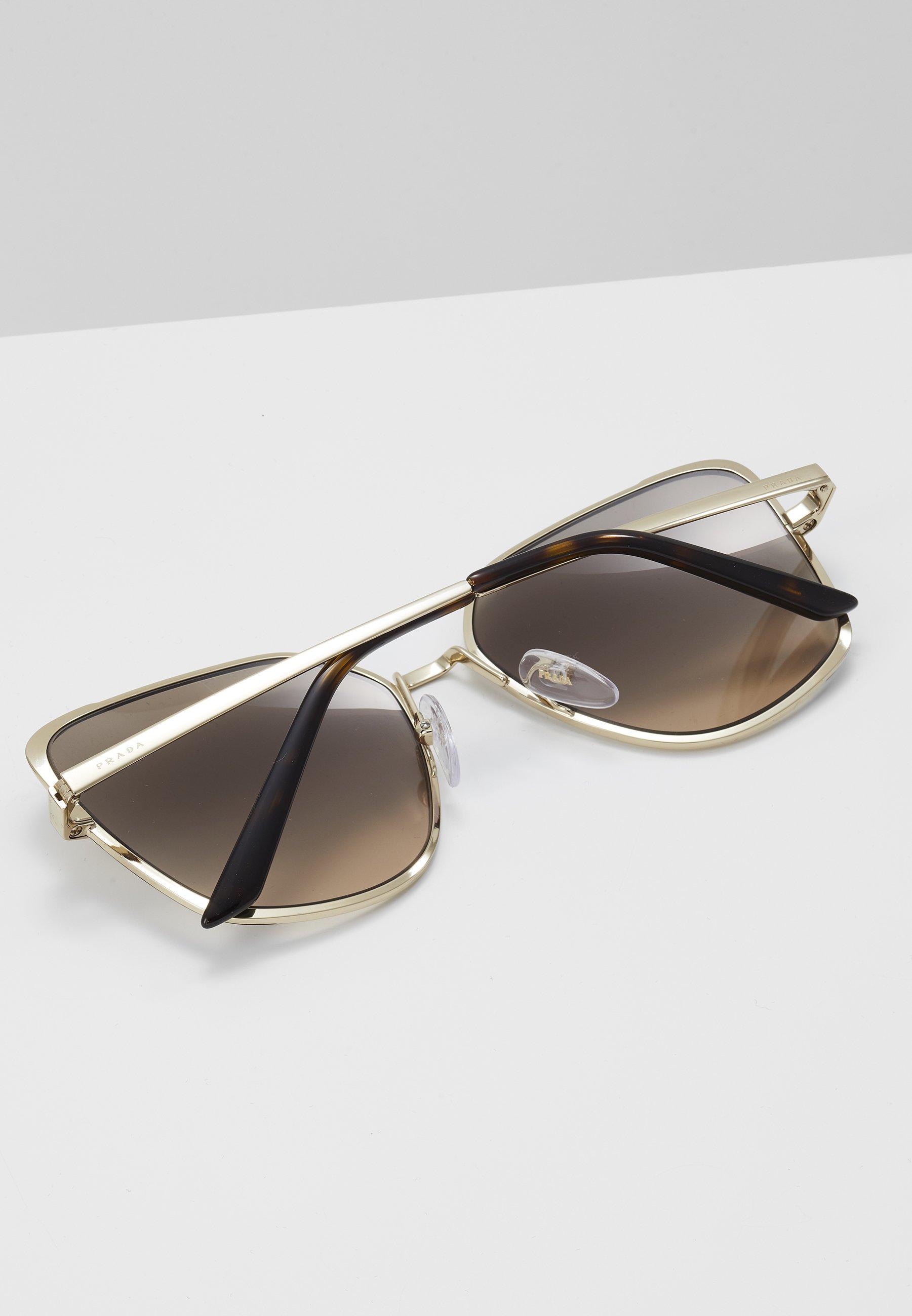 Fornitura Accessori Prada Occhiali da sole gold-coloured/brown