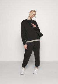 Topshop - SET - Sweatshirt - black - 1