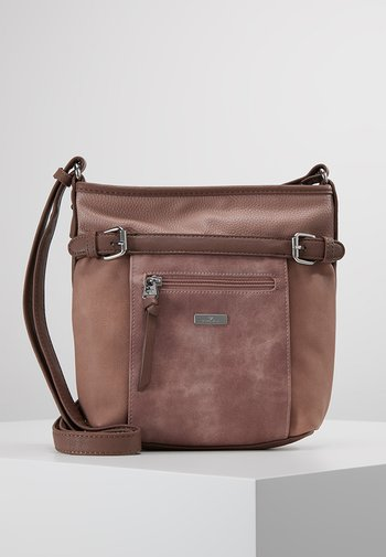 JUNA CROSS BAG - Across body bag - rose