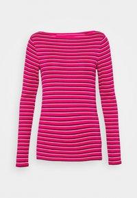 GAP - BATEAU - Maglietta a manica lunga - pink stripe - 4