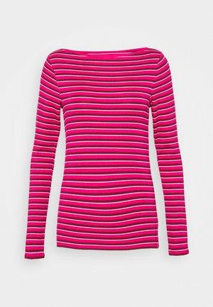 BATEAU - Camiseta de manga larga - pink stripe