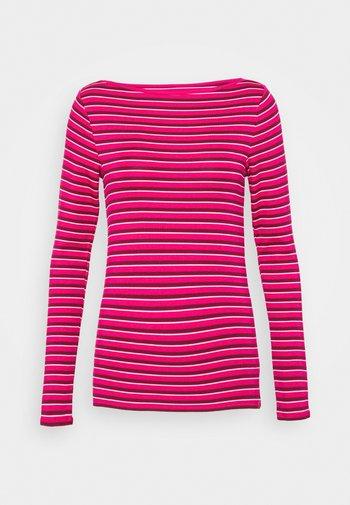 BATEAU - Top sdlouhým rukávem - pink stripe