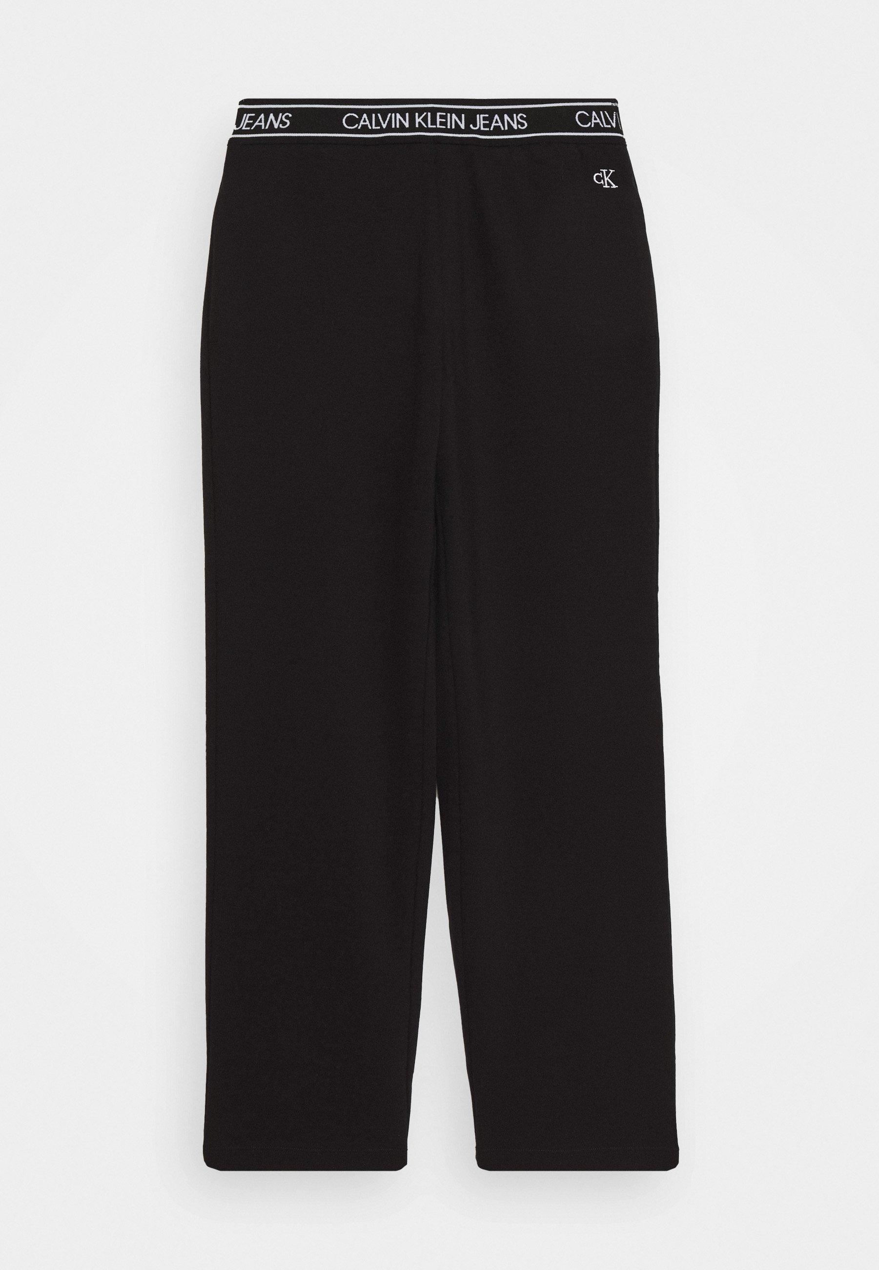 Enfant LOGO WAISTBAND WIDE PUNTO PANTS - Pantalon de survêtement