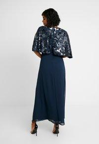 Lace & Beads - ALEXA MAXI - Společenské šaty - navy - 2