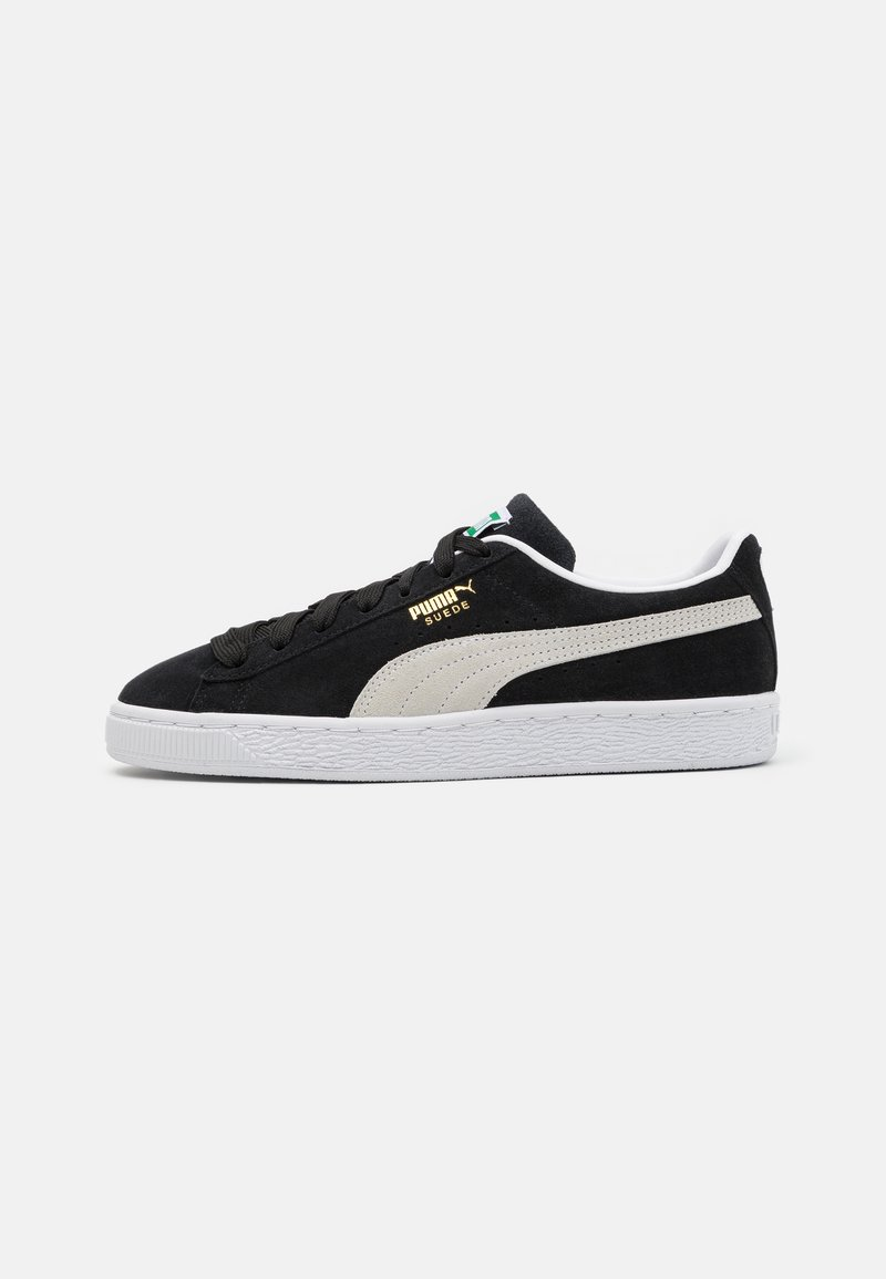 Puma - SUEDE CLASSIC - Sneakers - black/white