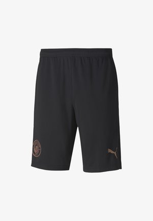 MANCHESTER CITY  - Sports shorts - black-copper