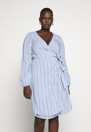 VMIDA BELOW KNEE DRESS  - Day dress - placid blue/multi colors