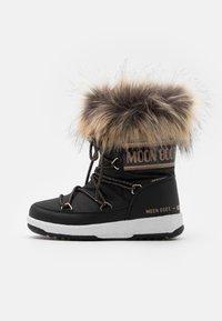 Moon Boot - JR GIRL MONACO LOW WP - Winter boots - black/copper - 0