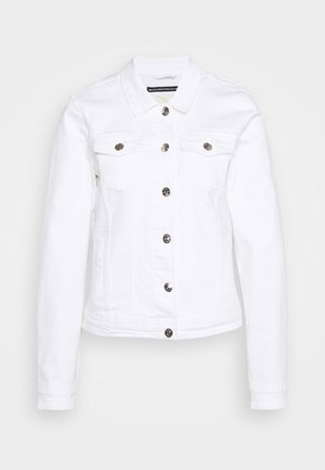 ONLTIA LIFE JACKET - Denim jacket - white
