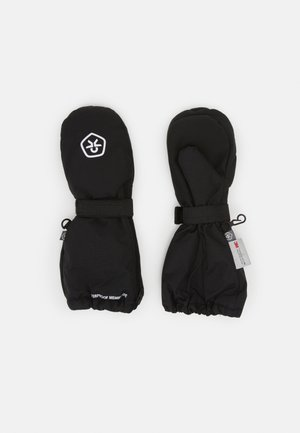 MITTENS LONG ZIP UNISEX - Mittens - black