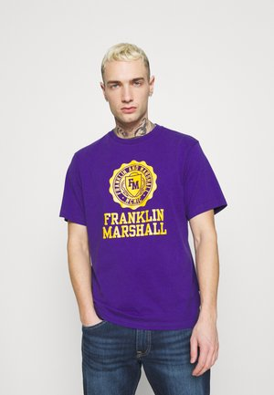 T-shirt con stampa - lakers purple