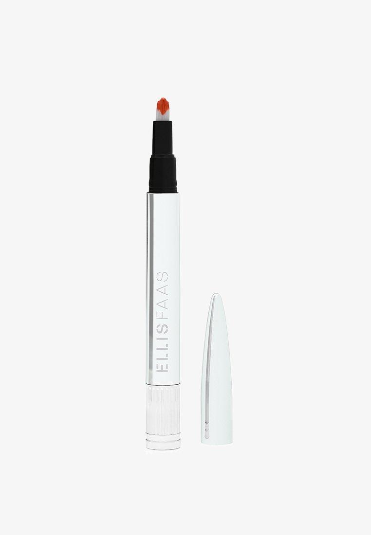 ELLIS FAAS - GLAZED LIPS - Liquid lipstick - sheer deep coral