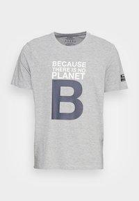 GREAT BALF MAN - T-shirt med print - grey melange