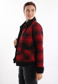 Felix Hardy - Light jacket - red-black - 2