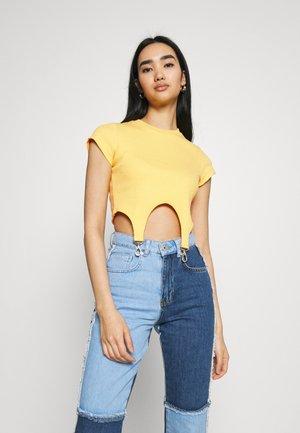 CLONE - Camiseta estampada - yellow