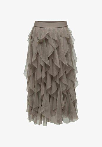 Spódnica trapezowa - antler