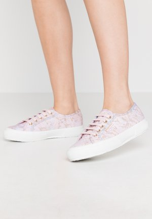 2750 MARBLEPRINT - Joggesko - pink pale lilac/gold