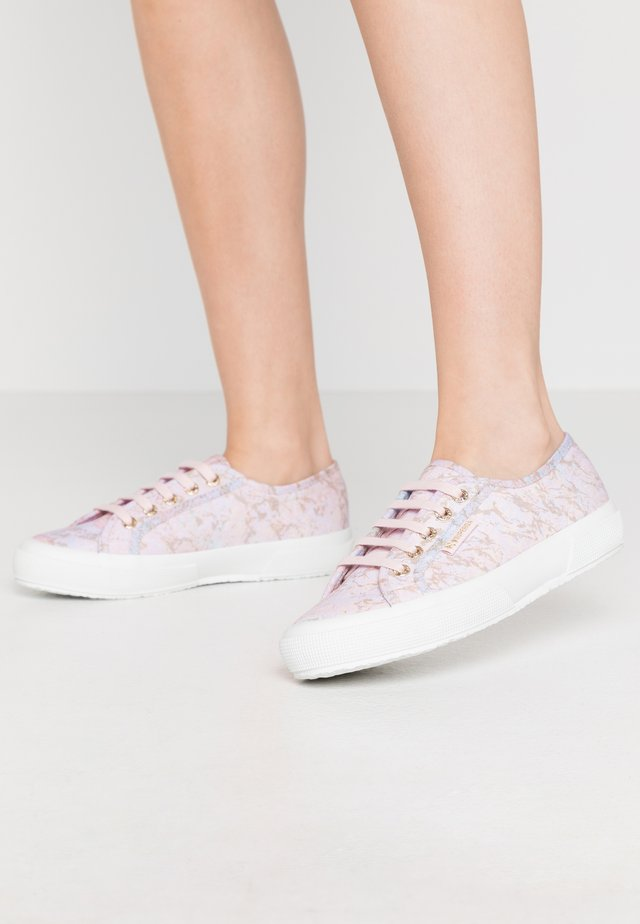 2750 MARBLEPRINT - Trainers - pink pale lilac/gold