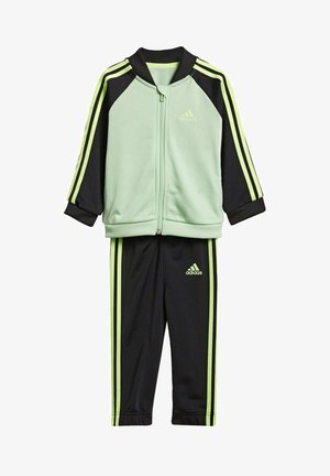 STRIPES TRICOT TRACKSUIT - Tracksuit - green