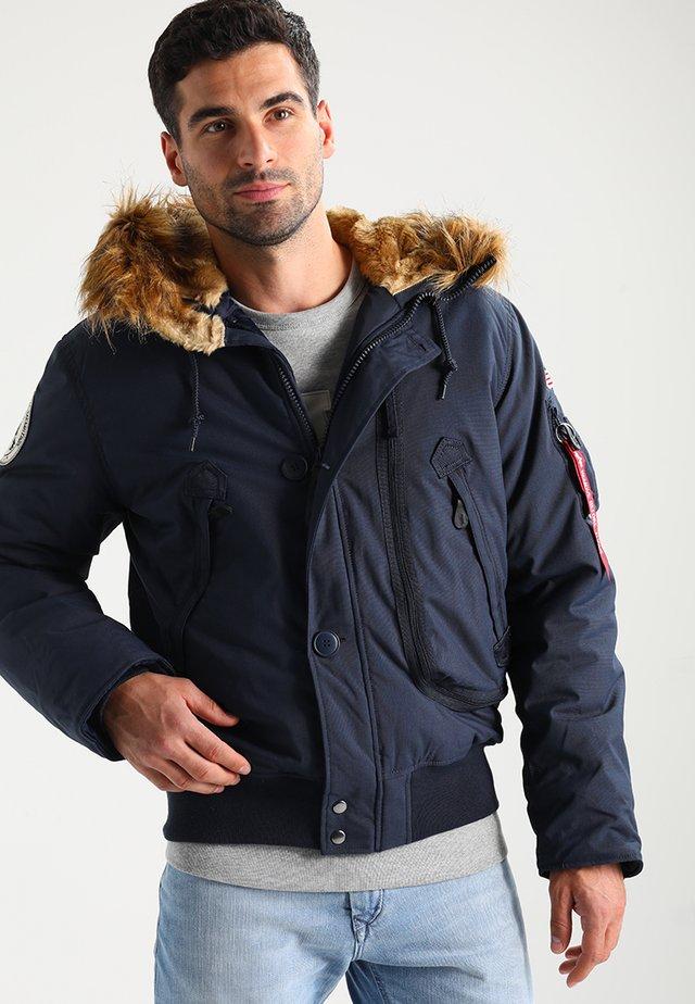 Zimní bunda - rep blue