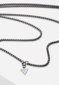 Guess - LION CHARM NECKLACE  - Necklace - gunmetal - 2