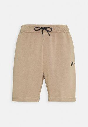 WASH - Shorts - taupe haze/black
