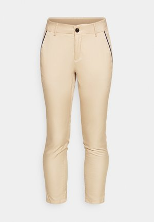 IVA 7/8 TECH PANTS - Trousers - oxford tan