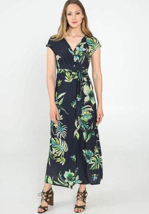 MIT TROPIC-PRINT - Robe longue - green