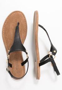 Tamaris - T-bar sandals - black - 3