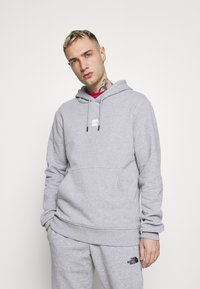 The North Face - GRAPHIC HOOD - Sweat à capuche - light grey heather - 0