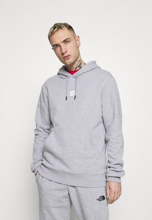 GRAPHIC HOOD - Bluza z kapturem - light grey heather