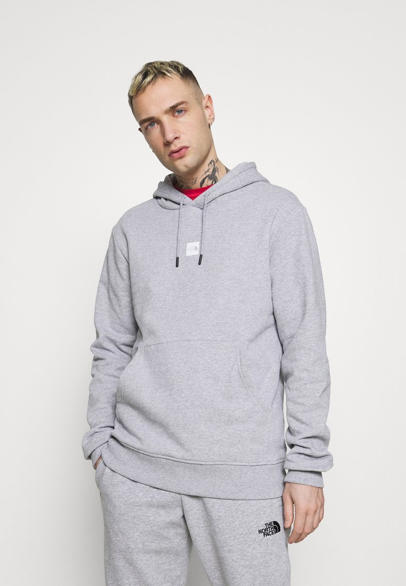 The North Face - GRAPHIC HOOD - Sweat à capuche - light grey heather