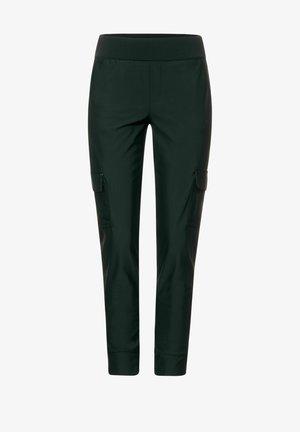 LOOSE FIT HOSE IN CARGO - Cargo trousers - grün