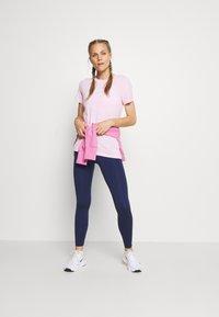 Nike Performance - TEE CREW - Print T-shirt - pink foam - 1