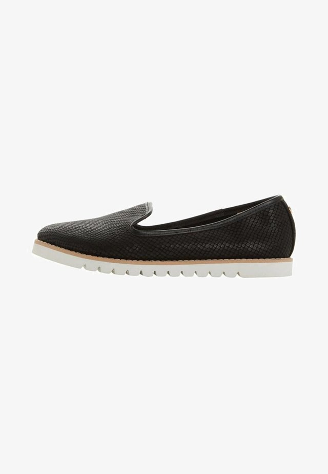 GALLEON - Slip-ons - black
