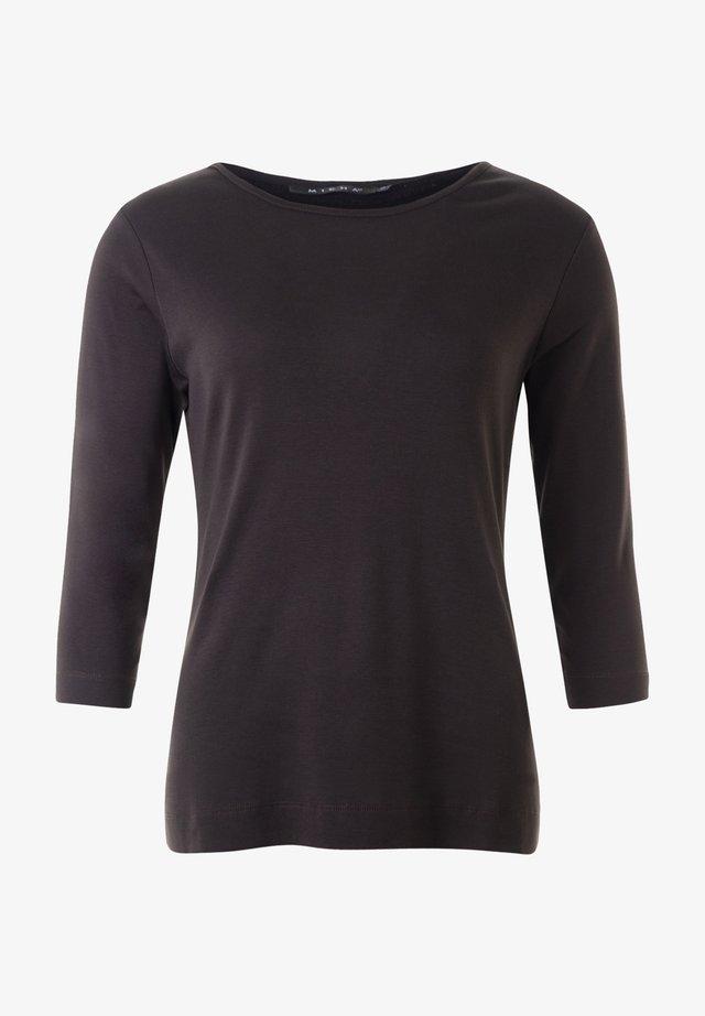 Långärmad tröja - mocca