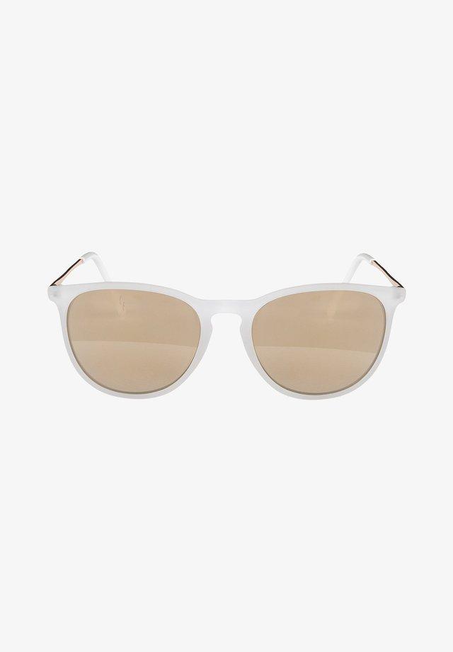 Sunglasses - mirror gold