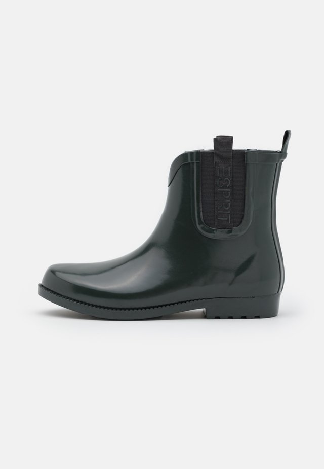 GLAS GOW RIBBON - Wellies - dark green
