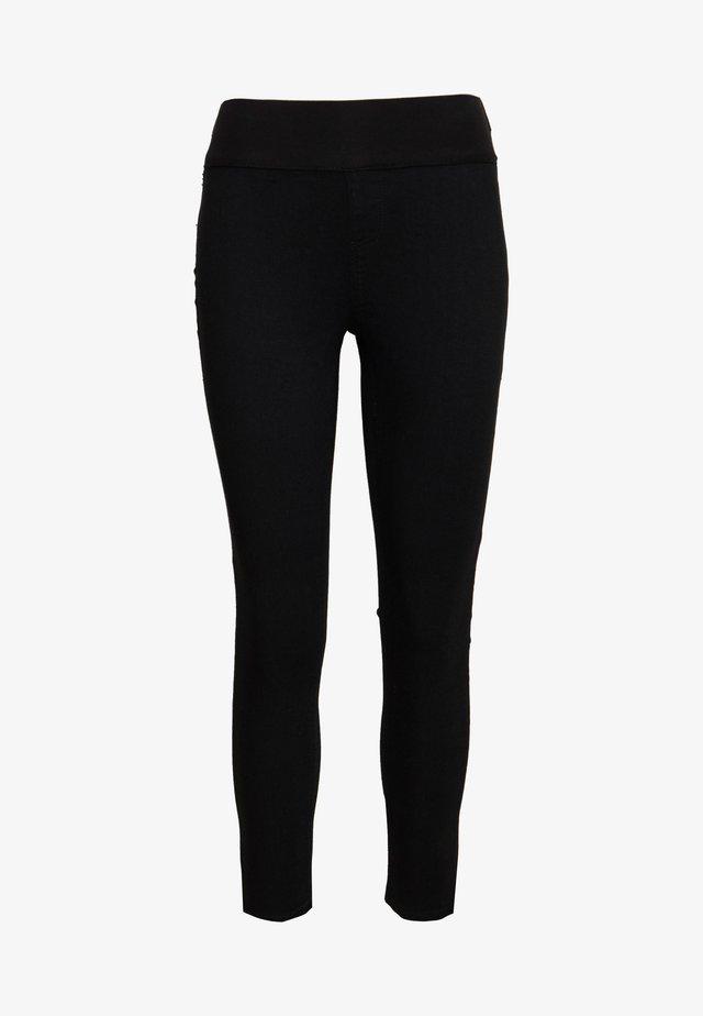 JONI CLEAN - Jeansy Skinny Fit - black