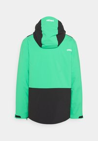 Oakley - INSULATED ANORAK - Snowboard jacket - black/mint - 8