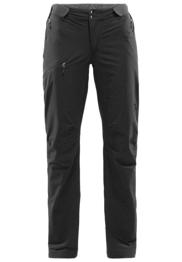 BRECCIA LITE PANT WOMEN - Outdoor trousers - true black