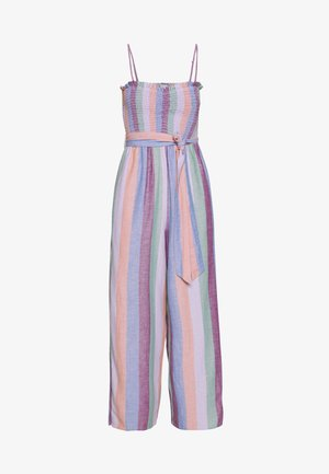 EASY SMOCKED TUBE - Jumpsuit - purple