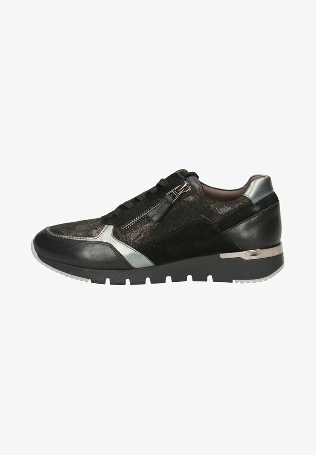 SNEAKER - Sneakers laag - black shiny co